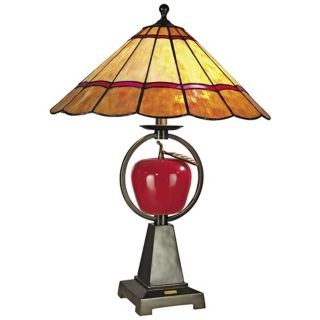 Brass   Antique Brass, Tiffany, Art Glass Table Lamps