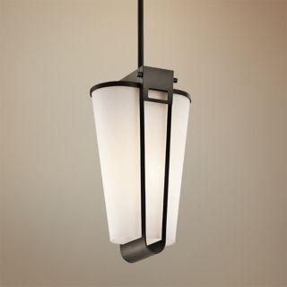 """Kichler Coturri 15"""" High Olde Bronze Outdoor Pendant Light   #V9684"""