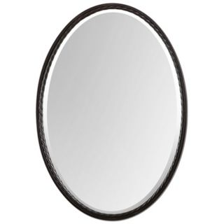 "Uttermost Casalina 32"" High Oil Rubbed Bronze Wall Mirror   #Y1427"