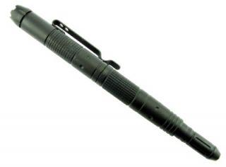 Jtec Aluminum Tactical Pen w DNA Catch LED Glass Break Self Defense