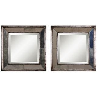 24 In. Or Less, Square, Wall Mirrors Mirrors