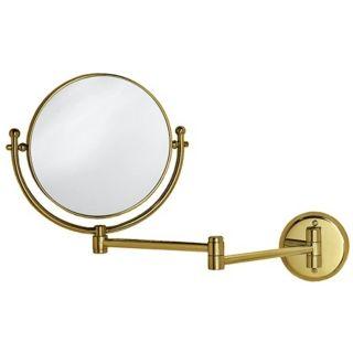 "Gatco Brass 19 1/2"" Wide Swing Arm Wall Mirror   #X6711"