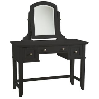Bedford Ebony Wood Vanity Table   #W3353