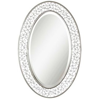 "Uttermost Branden 36"" High Oval Wall Mirror   #T4839"