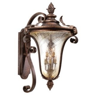 "Pirouette Collection 38 1/2"" High Outdoor Wall Light Fixture   #02885"
