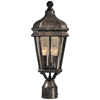 "Harrison Collection 20"" High Post Mount Outdoor Light   #90738"