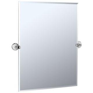 "Gatco Franciscan Rectangular 31 1/2"" Tilting Wall Mirror   #P6564"