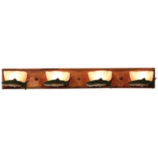 "Logen Collection Trout 33"" Wide Bathroom Light Fixture   #J0550"