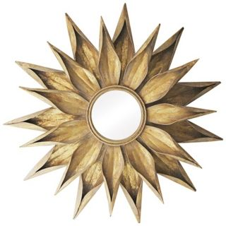"Brackenhead 36"" High Cambelside Gold Wall Mirror   #X7153"