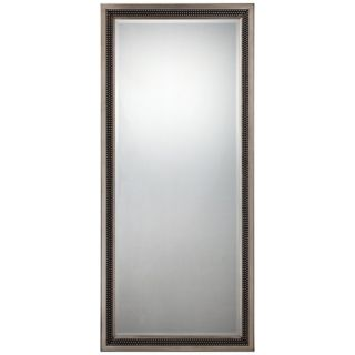 "Quoizel Meridian Rectangular 68"" High Silver Wall Mirror   #X5887"