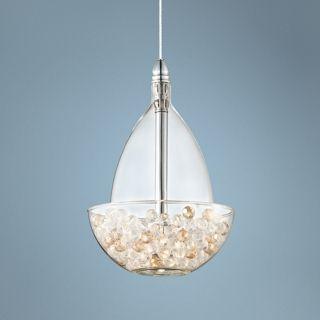 Possini Euro Design Crystal Jewel Mini Pendant Light   #V8386