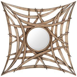 "Cooper Classics Newland 36"" Square Decorative Wall Mirror   #X7018"