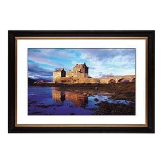 """Seaside Castle Giclee 41 3/8"""" Wide Wall Art   #56848 80384"""