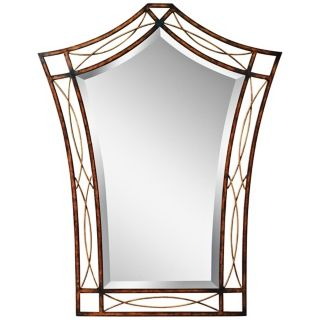 "Kichler Heathcliff 38 3/4"" High Copper Wall Mirror   #X5823"