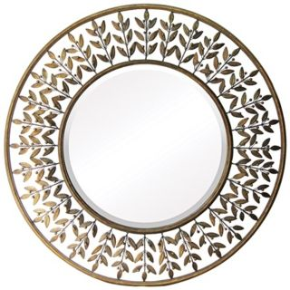 "Willow Brook Collection Walker Silver 39"" Wide Wall Mirror   #X7142"