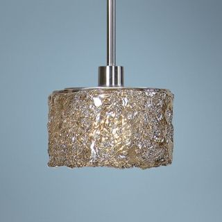 Uttermost Terumi Spun Glass 1 Light Mini Pendant Light   #T2894