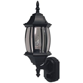 Traditional Estate Black ENERGY STAR Outdoor Wall Light   #H7008