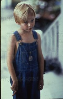 1993 35mm Slide Mason Gamble in Overalls in Dennis The Menace