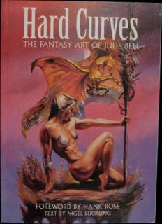 Suckling Hard Curves Fantasy Art of Julie Bell Signed by Author