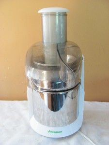 Never Used~ SS Juiceman JM419SSCAN Juicer w/Manual?Recipes Super Fast