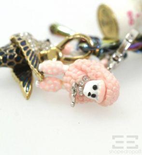 Juicy Couture Multicolor Chain Charm Bracelet