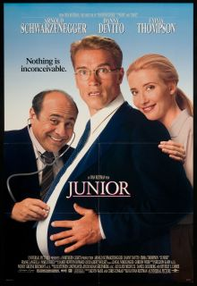 Junior 1994 Original U s One Sheet Movie Poster