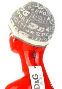 New Dolce Gabbana D G Junior Signature Logo Beanie Hat 18 C Unisex