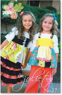 Pink Fig Juliet Top Girls Childrens Sewing Pattern New