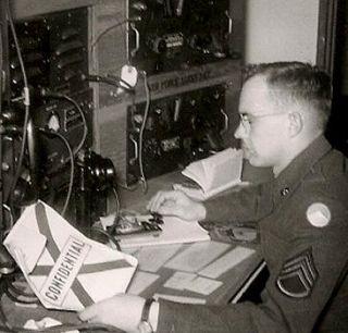 1943 Military Radio Telegraph Procedure Manual Army Air Force Book