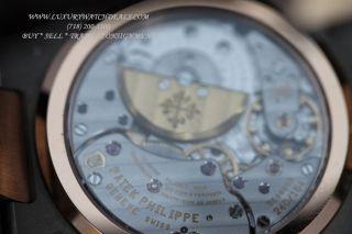 RARE Patek Philippe Jumbo Nautilus 5712gr in 18K Rose White Gold