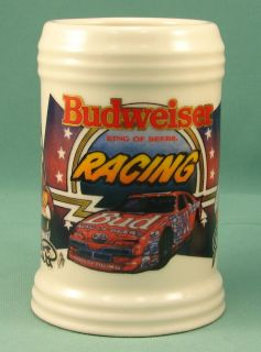 Budweiser NASCAR Racing Stein Elliott Junior Johnson