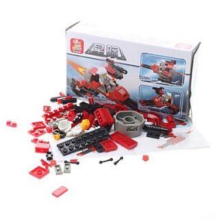 Sluban DIY 3D Puzzle Blocks aeronaves ladrillos de construcción de