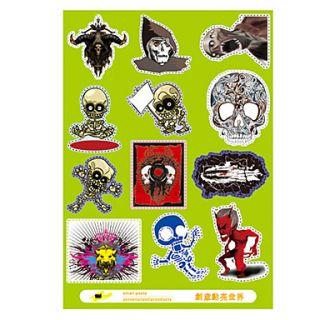 EUR € 2.93   Skull Style Sticker Decal Laptop PVC per MacBook Air