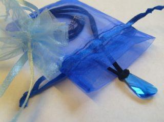 season 3. Blue Swarovski Crystal pendant. H20 Just add water locket