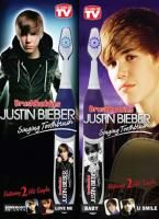 Buddies Justin Bieber Singing Toothbrush in Purple   AS SEEN ON TV