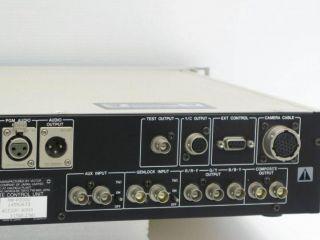 JVC RM P300 Remote Control Unit Model RM P300U Camera Control Unit