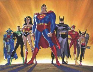 Justice League Batman Superman Black Suit Costume Variants Figure Set