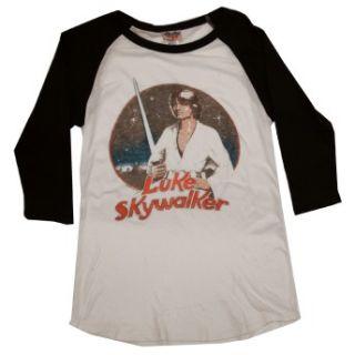 Luke Skywalker Vintage Style Junk Food Juniors Long Sleeve T Shirt Tee
