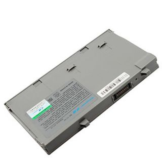 Batería del ordenador portátil para Dell Latitude D400 9T119 9T255 y