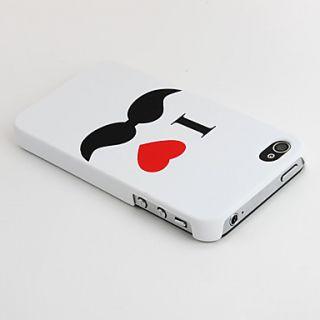iphone 4 4s hoesje i love moustache 00324034 119 schrijf een review