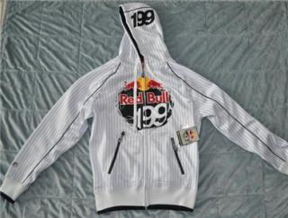 Fox Racing Red Bull Travis Pastrana P 199 Core Zip Up Hoodie White