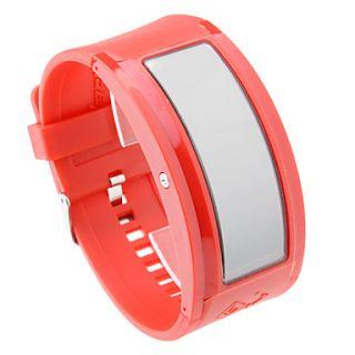€ 26.03   108 luces LED blancas banda roja reloj de pulsera con