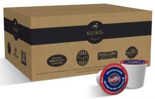 50 K Cups Bulk Case 25 Keurig Coffee Flavors Avail
