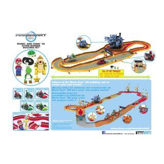 inspired by nintendo s mario kart video game the k nex mario and yoshi