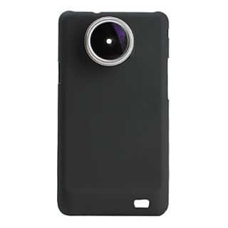 24x 190 Degree Super Fish Eye Thread Lens with Back Case for Samsung