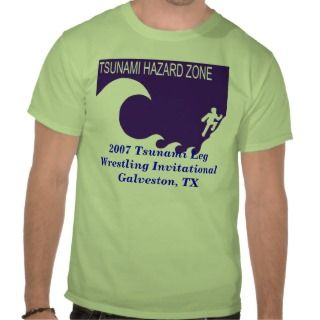2007 Tsunami Leg Wrestling Invitational Shirts