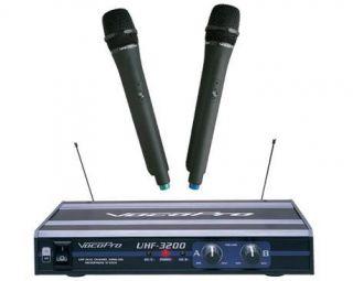 Karaoke VocoPro Wireless Microphone System UHF 3200