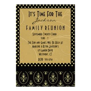 perfect family reunion invitation easily customize this invite with