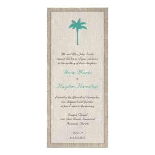 Palm Tree Wedding Invitations, Announcements, & Invites