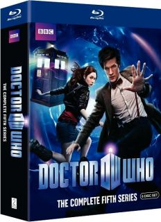 New Doctor Who The Complete Season 5 Blu Ray Fifth Series